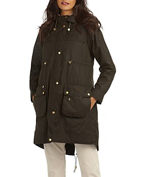 Barbour - Birches Waxed Cotton Hooded Parka