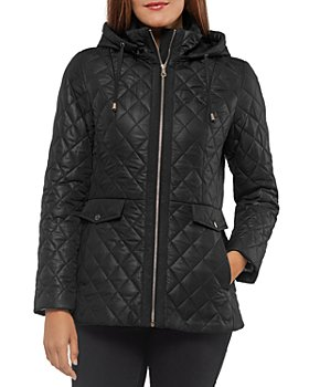 kate spade new york - Quilted Hooded Jacket