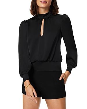 Ramy Brook Keyhole Balloon Sleeve Top