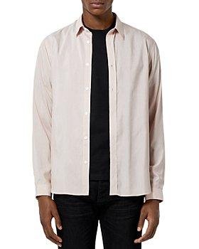 The Kooples - Textured Stripe Shirt