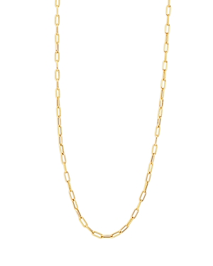 Roberto Coin 18K Yellow Gold Open Link Chain Necklace, 31-Jewelry & Accessories