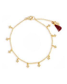 AQUA - Aqua Cubic Zirconia Starburst Dangle Bracelet - 100% Exclusive