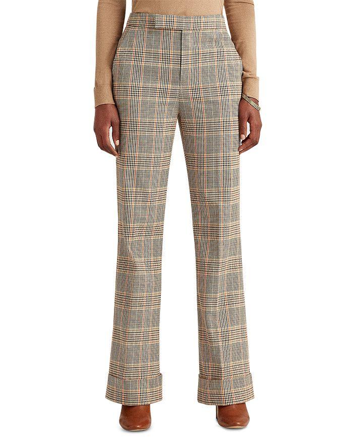 Ralph Lauren - Printed Wide Leg Pants