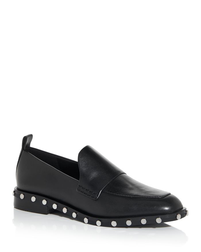 3.1 Phillip Lim Women's Alexa Studded Apron Toe Loafers    Bloomingdale's
