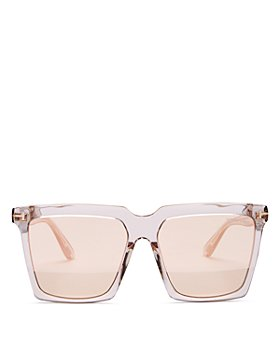 Tom Ford - Women's Sabrina Oversized Square Sunglasses, 58mm