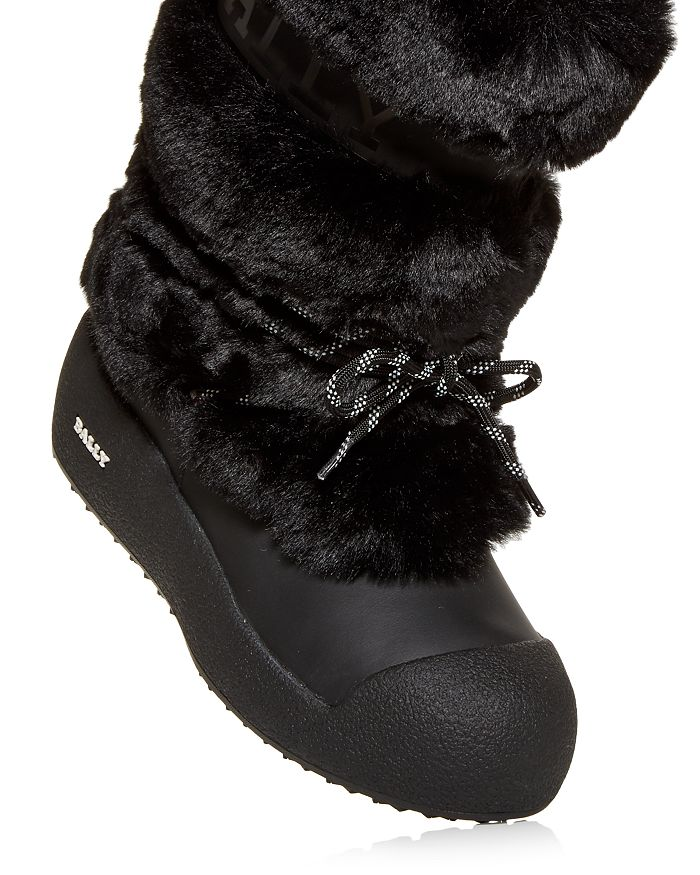 BALLY Boots WOMEN'S GALY FAUX FUR BOOTS