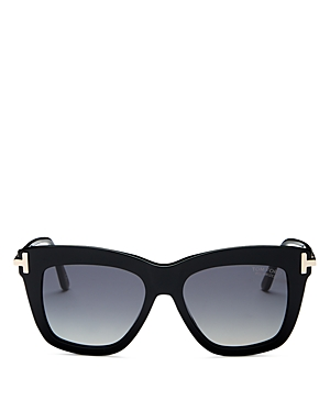 Tom Ford Dasha Polarized Square Sunglasses, 52mm-Jewelry & Accessories