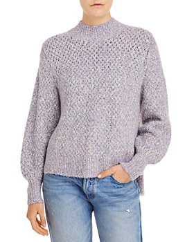 Rebecca Taylor - Space Dye Balloon Sleeve Sweater