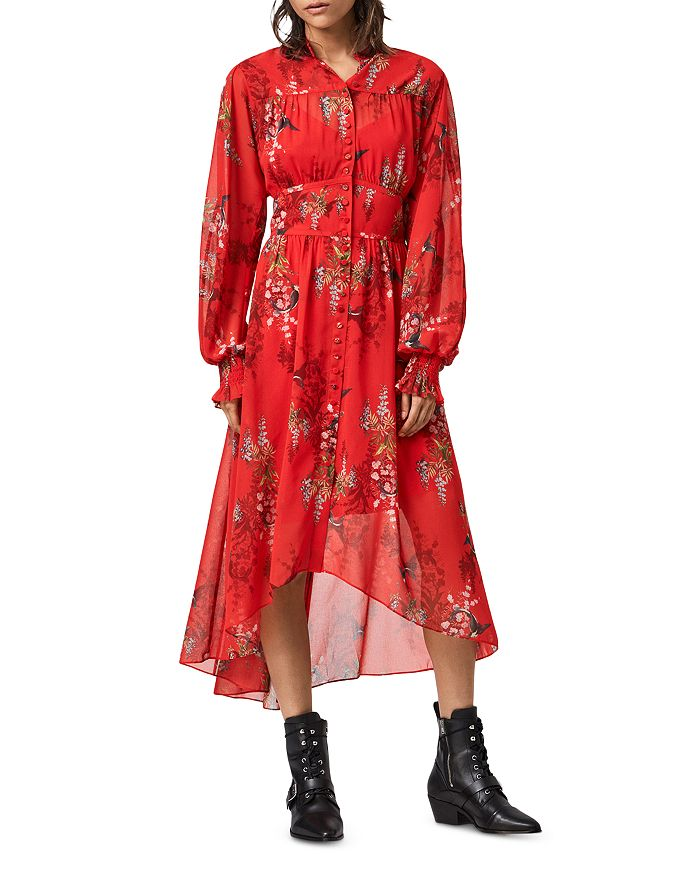 ALLSAINTS - Leonie Melisma Floral Print Dress