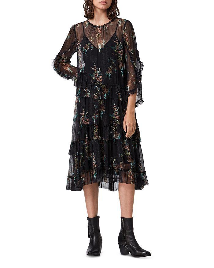 ALLSAINTS - Macey Melisma Floral Print Dress