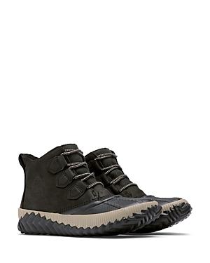 Sorel Women's Out N About Plus Waterproof Nubuck Leather Booties
