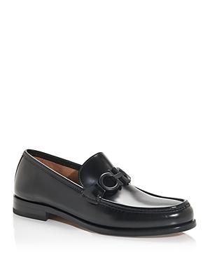 Salvatore Ferragamo Men's Rolo Moc Toe Loafers