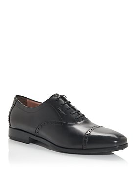 Salvatore Ferragamo - Men's Riley Cap Toe Oxfords- Wide