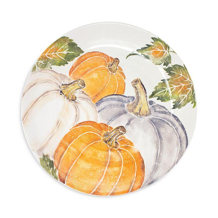 VIETRI - Pumpkins Large Serving Bowl with Assorted Pumpkins