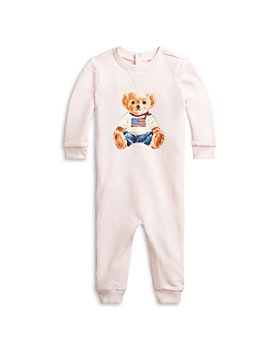 Ralph Lauren - Unisex Polo Bear Coverall - Baby