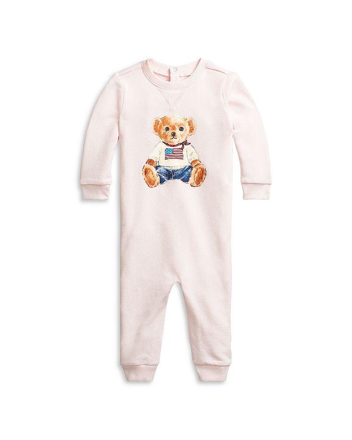 Ralph Lauren - Unisex Polo Bear Coverall - Baby
