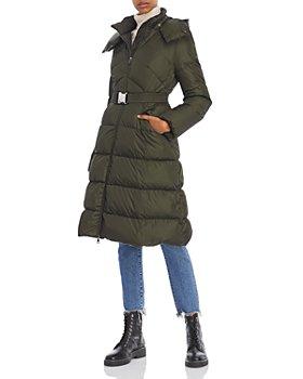 Moncler - Agot Belted Hooded Down Puffer Coat