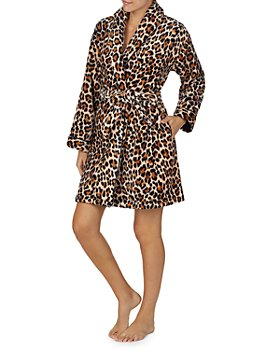 kate spade new york - Leopard Print Robe