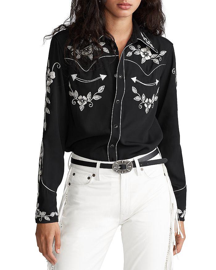 Ralph Lauren - Embroidered Western Shirt