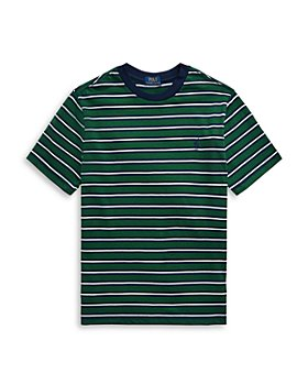 Ralph Lauren - Boys' Striped Cotton Tee - Little Kid, Big Kid