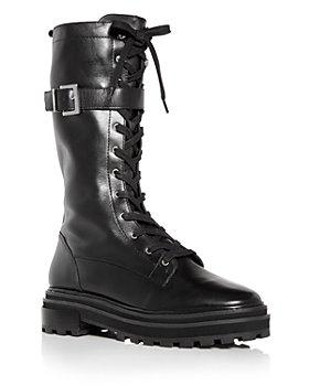 SCHUTZ - Women's Moly Tall Combat Boots