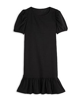 AQUA - Girls' Puff Sleeve Flounce Dress, Big Kid - 100% Exclusive