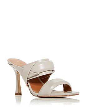 KURT GEIGER LONDON - Women's Brandy High Heel Slide Sandals