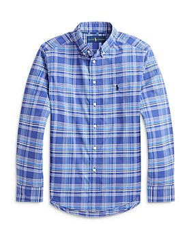 Ralph Lauren - Boys' Plaid Button Down Shirt - Little Kid, Big Kid