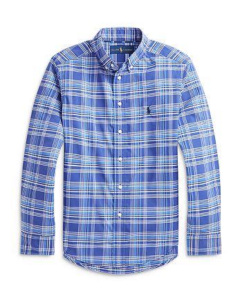 Ralph Lauren - Boys' Plaid Button Down Shirt - Big Kid