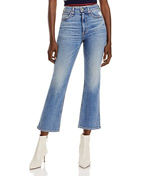 rag & bone - Nina High Rise Ankle Jeans in West Marin