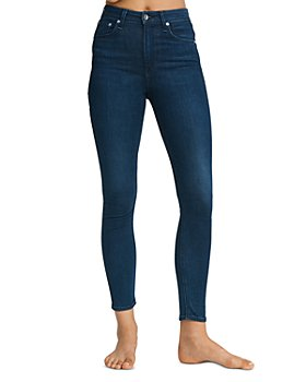 rag & bone - Nina High Rise Ankle Jeans in Viola