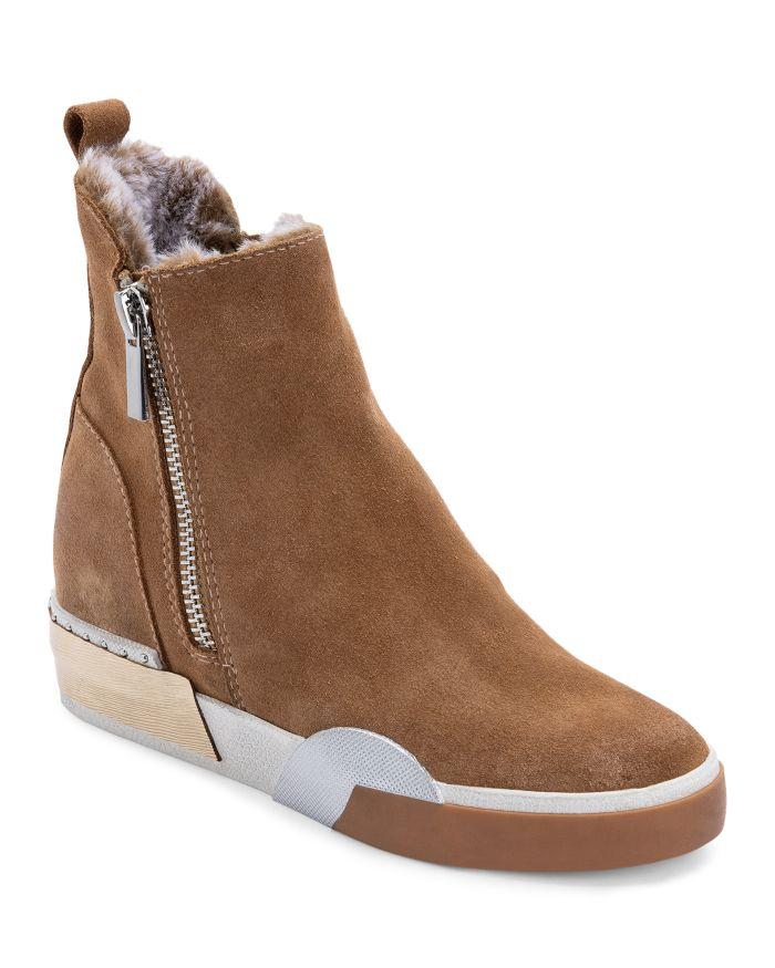 Dolce Vita Women's Zelma Zip High Top Sneaker Booties    Bloomingdale's