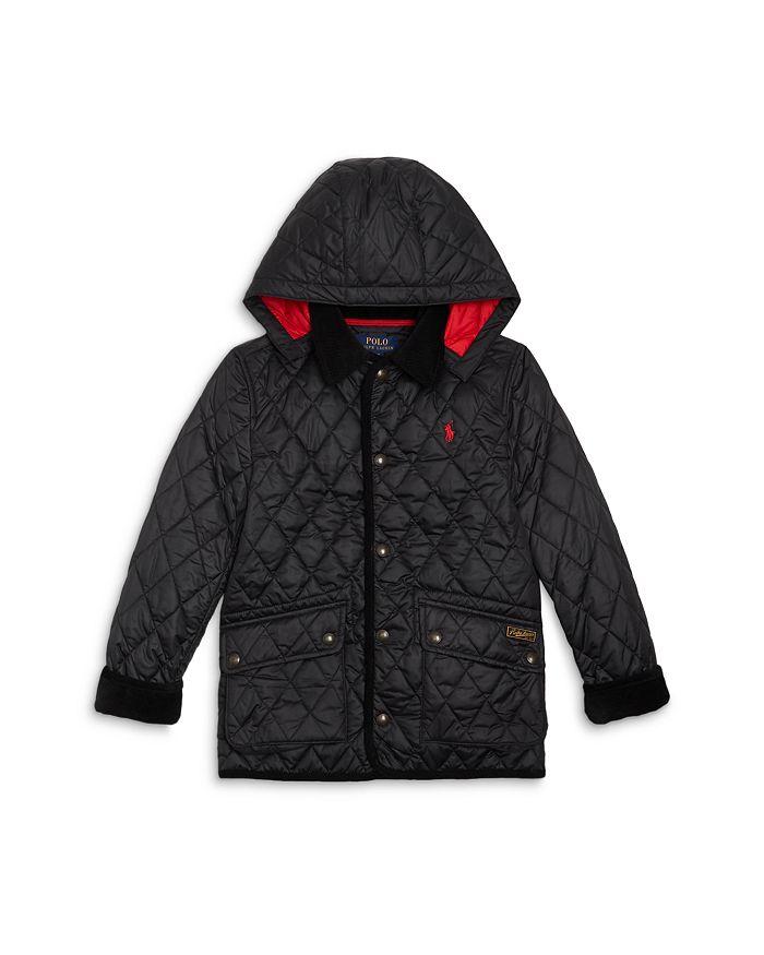 Ralph Lauren - Boys' Kempton Quilted Zip Hood Car Coat - Little Kid, Big Kid