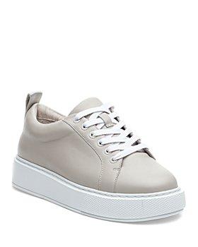 J/Slides - Women's Delilah Lace Up Sneakers
