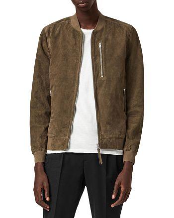 ALLSAINTS - Kemble Leather Bomber Jacket