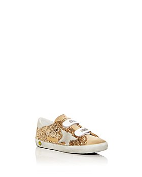 Golden Goose Deluxe Brand - Unisex Old School Glitter Low Top Sneakers - Toddler, Little Kid
