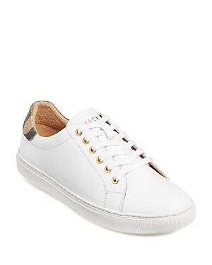 Jack Rogers WOMEN'S RORY CLASSIC LEATHER SNEAKERS