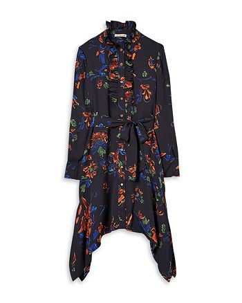 Tory Burch - Cora Printed Asymmetric Dress