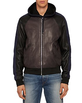 PS Paul Smith - Leather Bomber Jacket