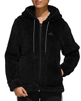 Adidas - Hooded Sherpa Fleece Jacket