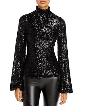 Redemption - High Neck Sequinned Top