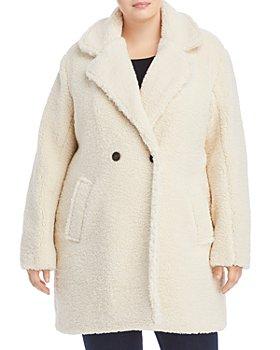 AQUA Curve - Faux Fur Coat - 100% Exclusive