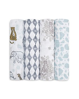 Aden and Anais - 4 Pk. Printed Classic Swaddles