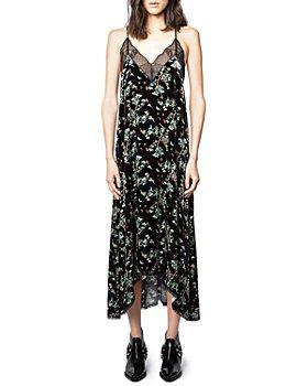 Zadig & Voltaire - Risty Velvet Blossom Dress