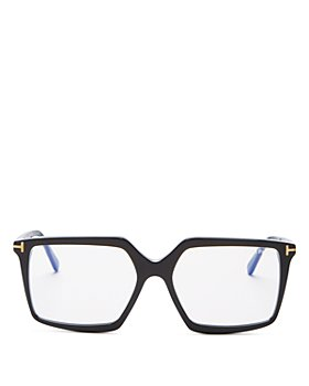 Tom Ford - Women's Square Blue Light Glasses