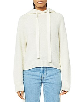 Helmut Lang - Brushed Sweater Knit Hoodie