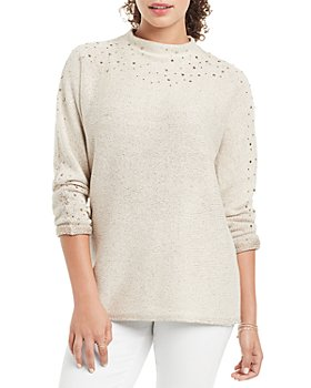 NIC and ZOE - Shine For Me Embellished Sweater