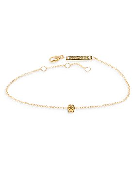 Zoë Chicco - 14K Yellow Gold Itty Bitty Paw Chain Bracelet