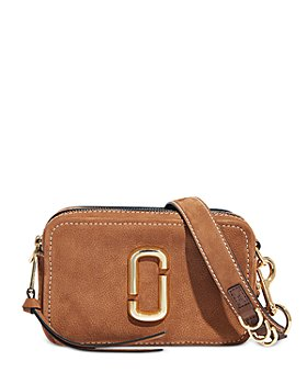 MARC JACOBS - The Softshot 21 Small Suede & Leather Crossbody
