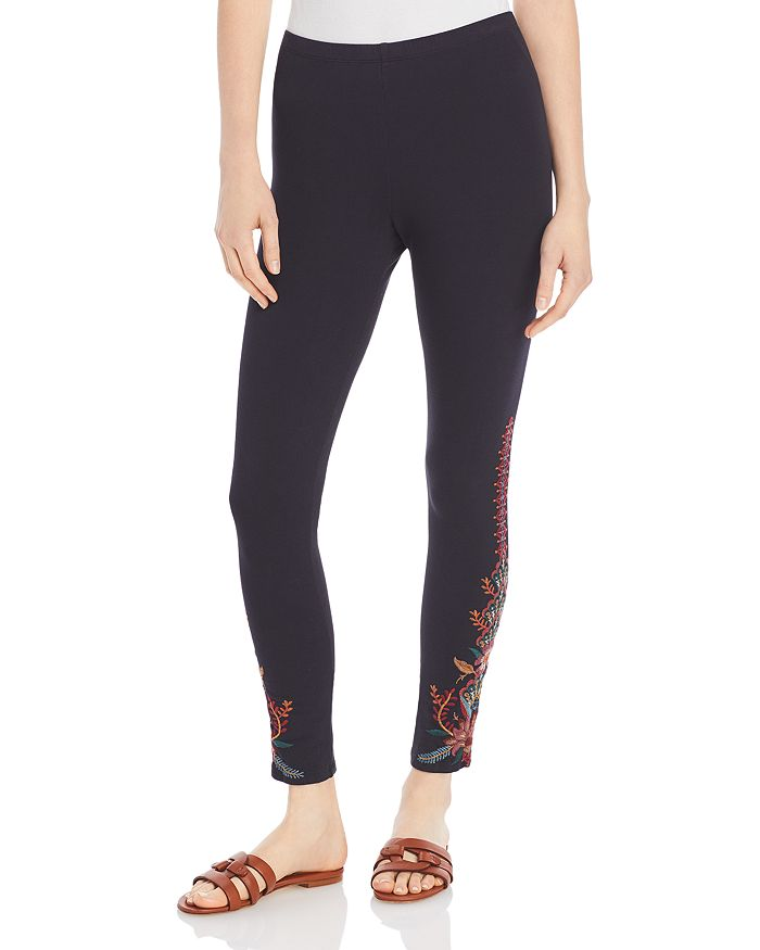 Johnny Was - Aivita Embroidered Leggings